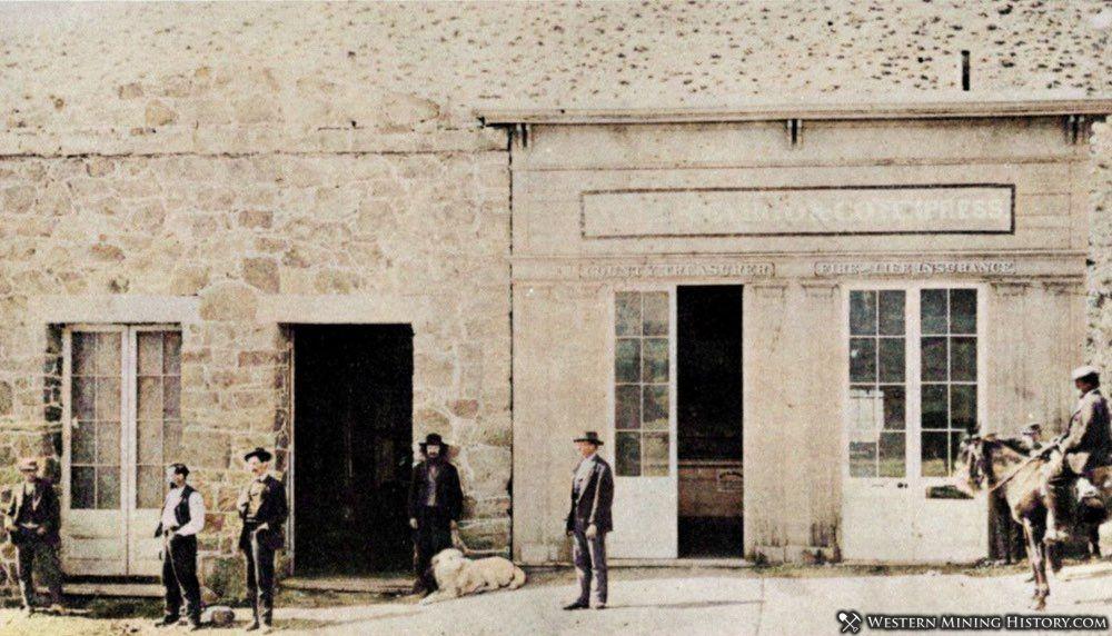 Wells Fargo office at Unionville Nevada 1870s