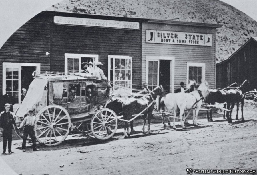 Stagecoach at Unionville, Nevada
