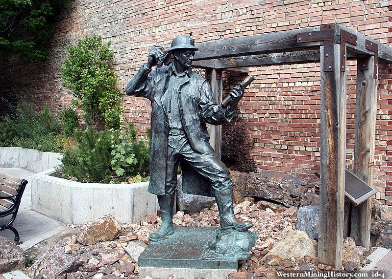 Miner Sculpture - Park City