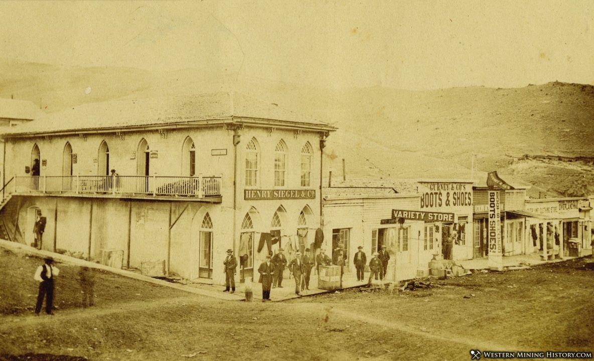 Virginia City Montana circa 1868