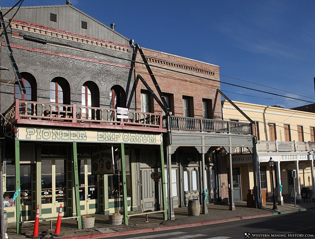 Featured Mining Town: Virginia City, Nevada