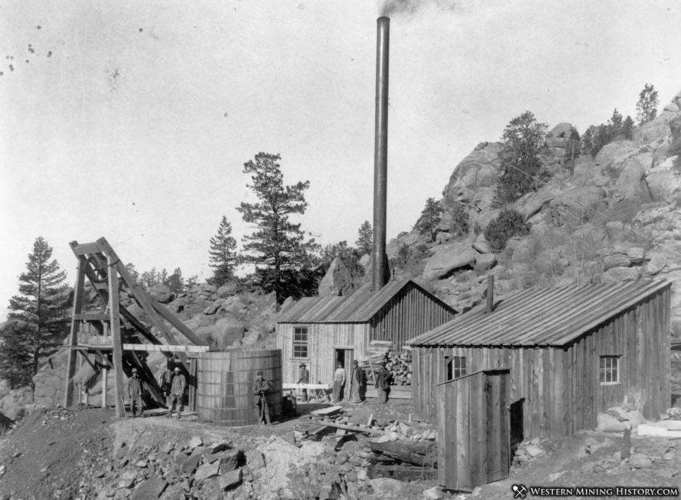 Vivandiere Mine at Turret Colorado