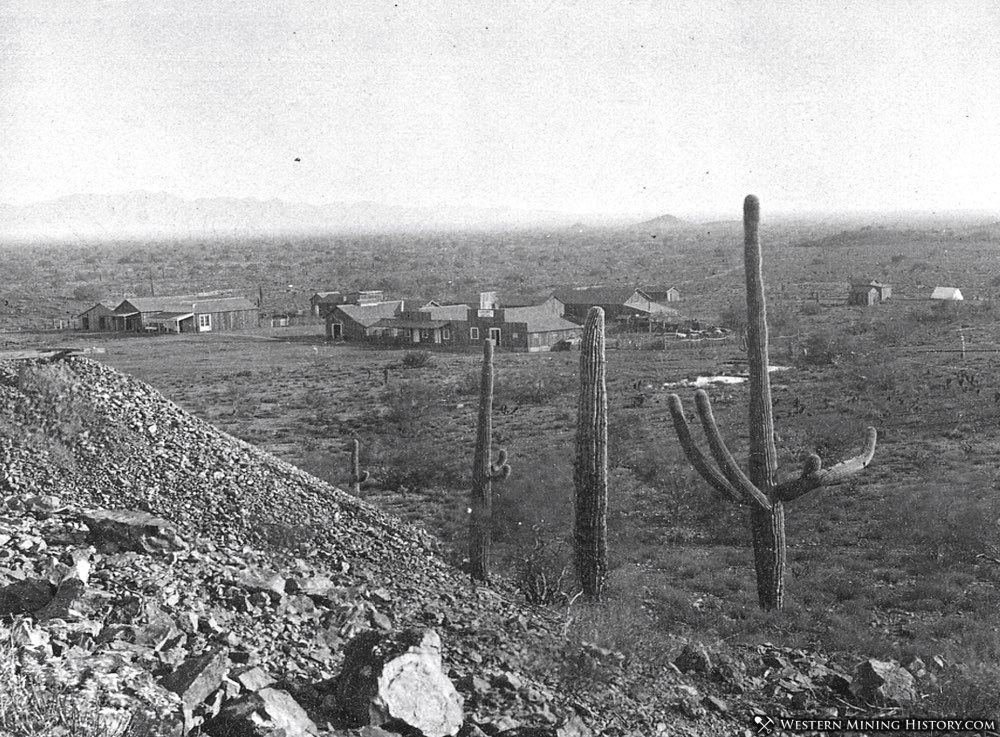 Vulture City, Arizona 1880