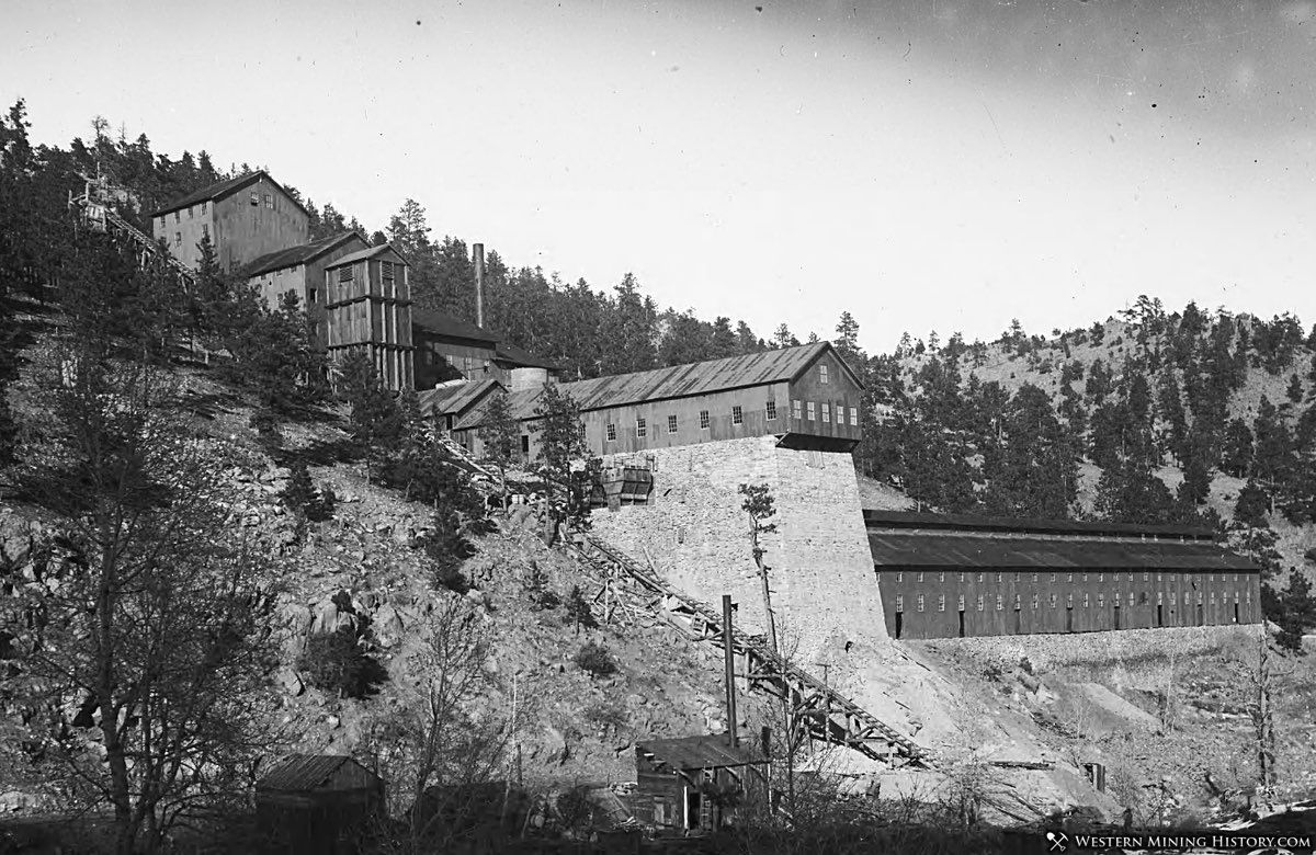 Wallstreet Gold Extraction Company Mill 1903