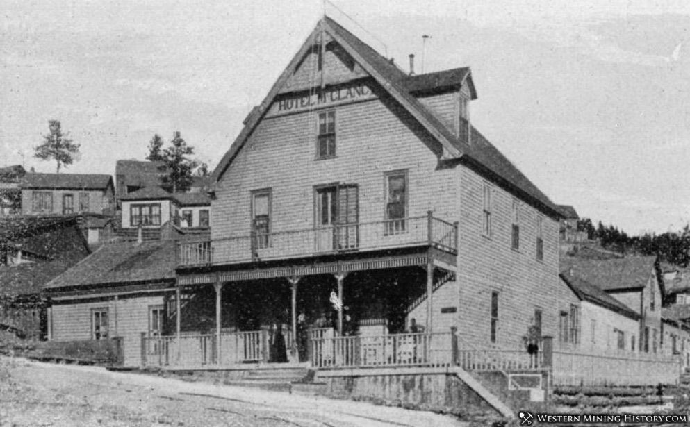 Hotel M Clancy Ward, Colorado 1899