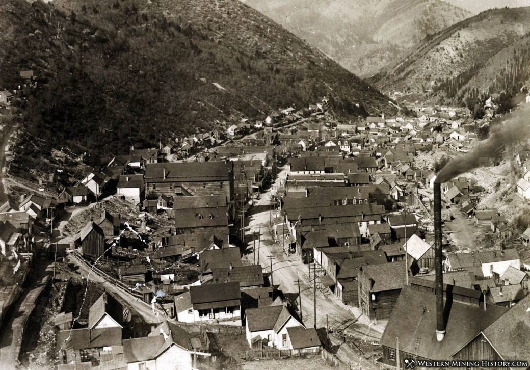 Featured Mining Town: Wardner, Idaho