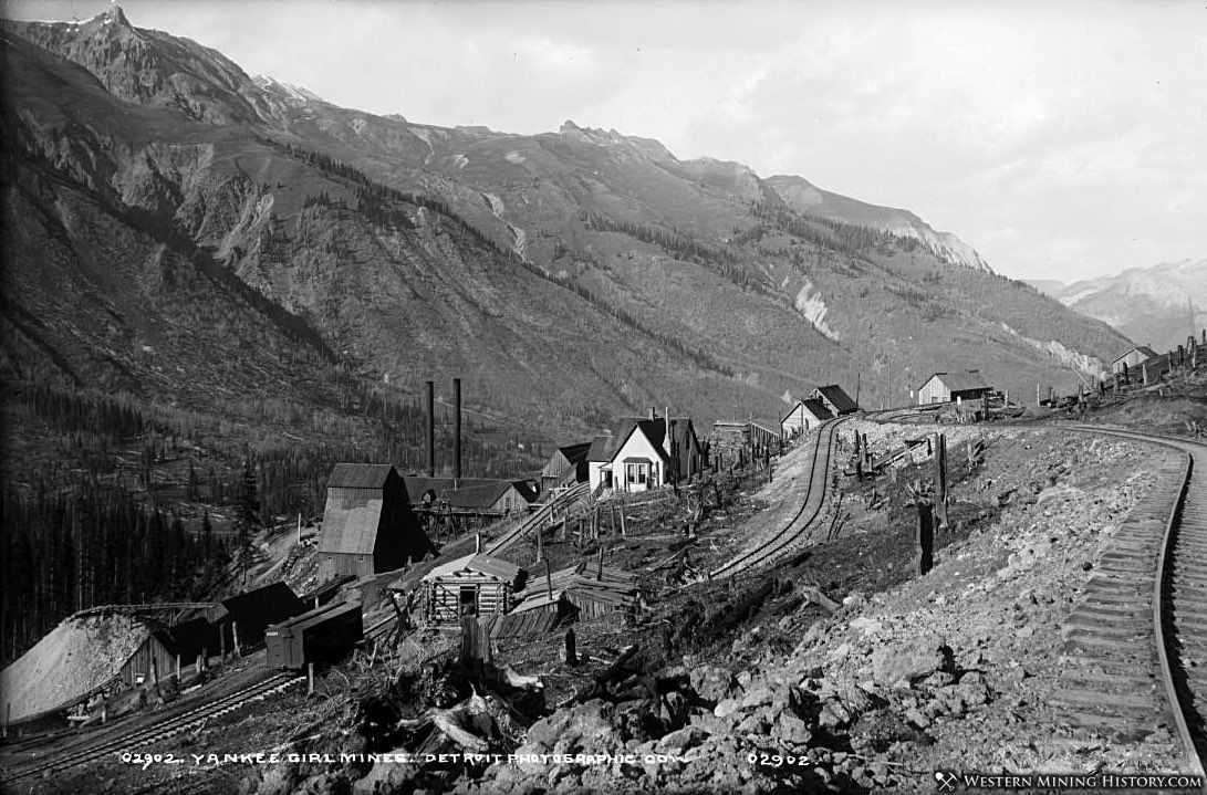 Yankee Girl Mine near Guston, Colorado ca. 1890