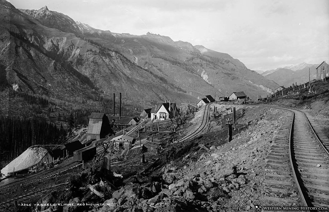 Yankee Girl Mine at Red Mountain ca. 1890