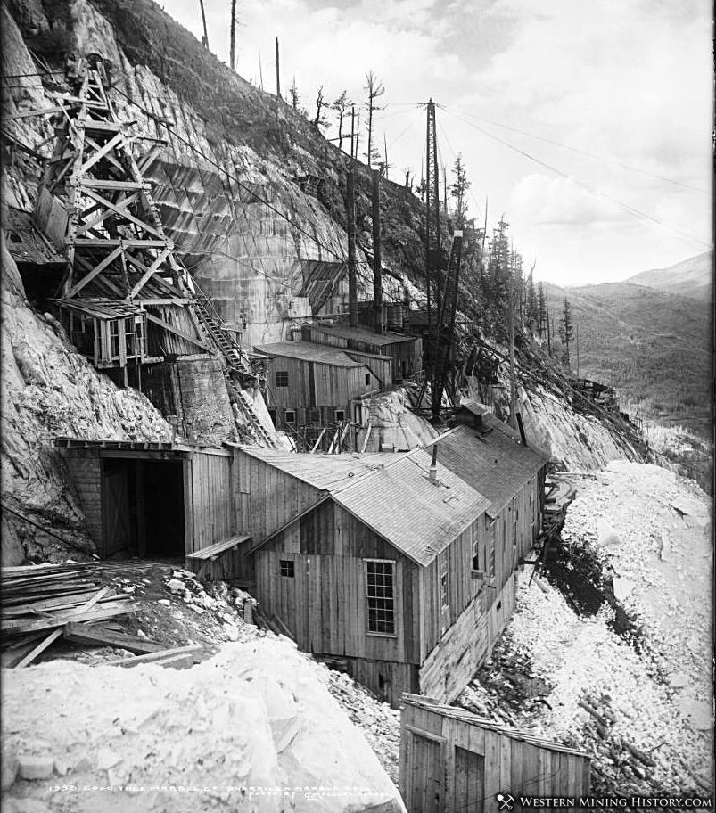 Yule Marble Quarry ca. 1910