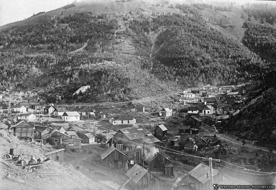 Dewars Saloon - Zortman, Montana 1908