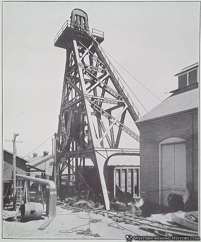 Shaft of the Anaconda Mine - Butte, Montana