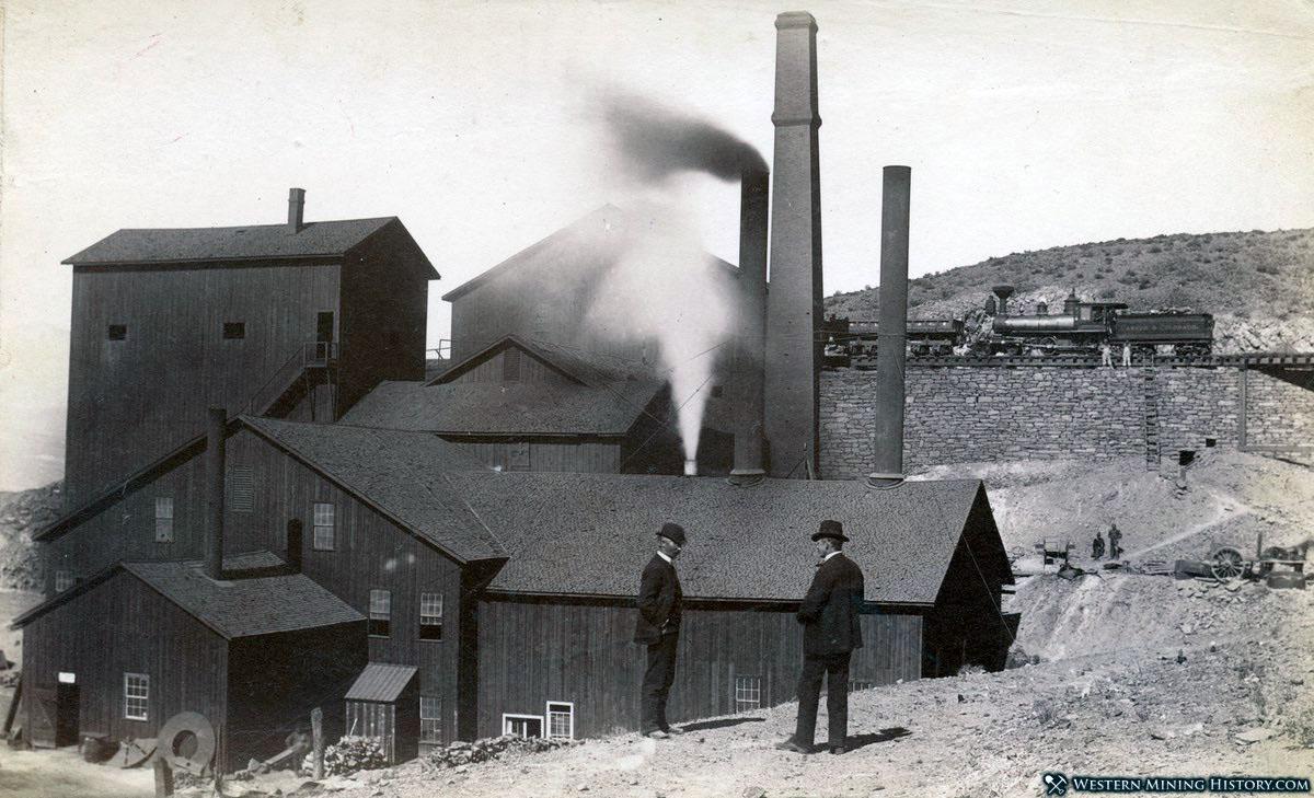 Upper mill at Belleville Nevada