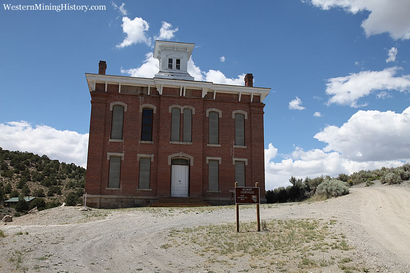 Original Nye County courthouse at Belmont