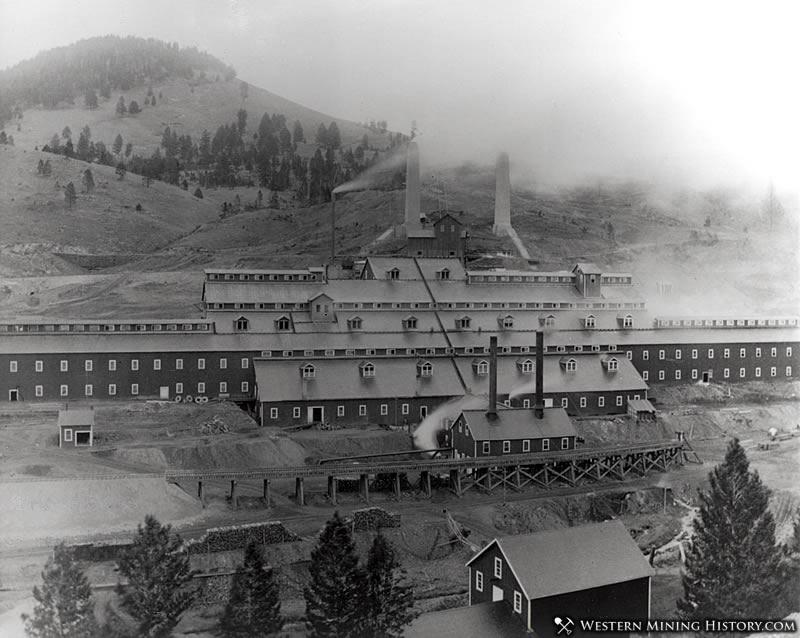 Bimetallic Mill - Philipsburg Montana