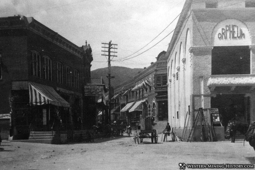 Brewery Gulch in Bisbee Arizona 1909