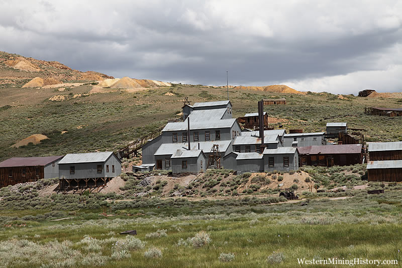 Standard Stamp Mill at Bodie