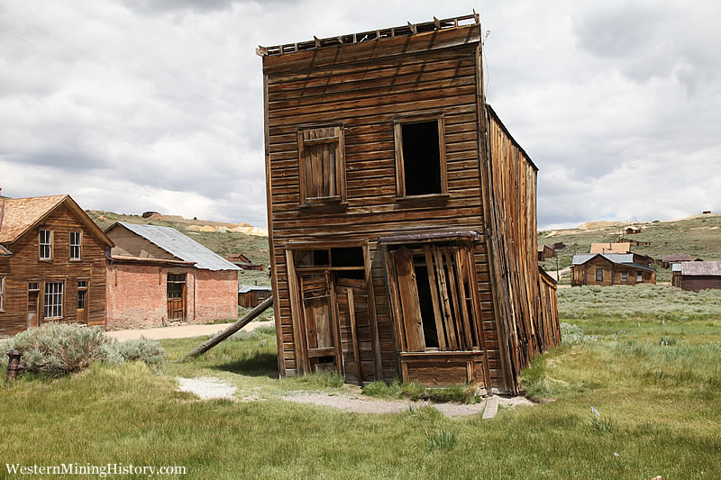 Builings last stand at Bodie