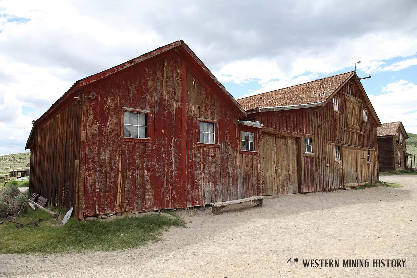 Red Barn Bodie California