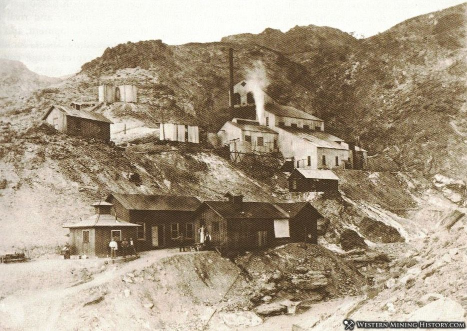 Mill At the Keane Wonder Mine ca 1908