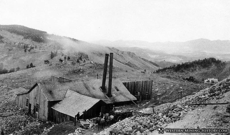 Mine Building Near Caribou