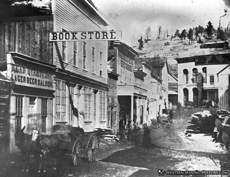 Main Street - Central City 1862