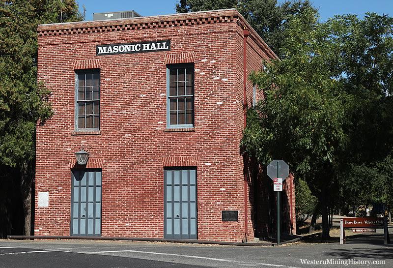 Masons Hall - Columbia California