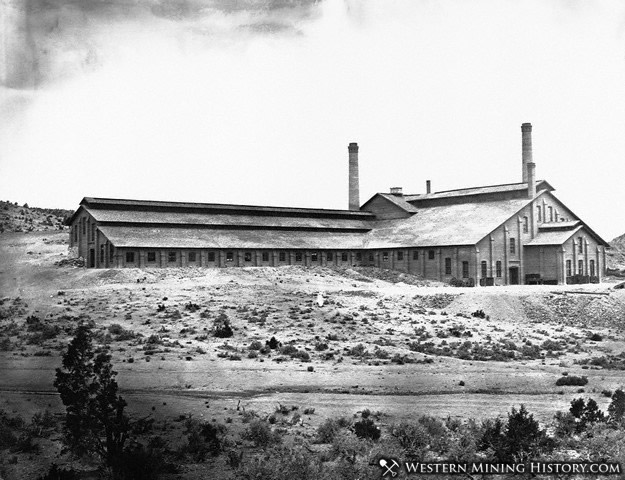 Combination Mill at Belmont Nevada 1872