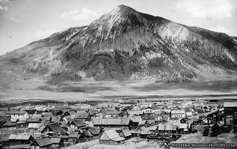 view of crested butte around 1900. Black Bedroom Furniture Sets. Home Design Ideas