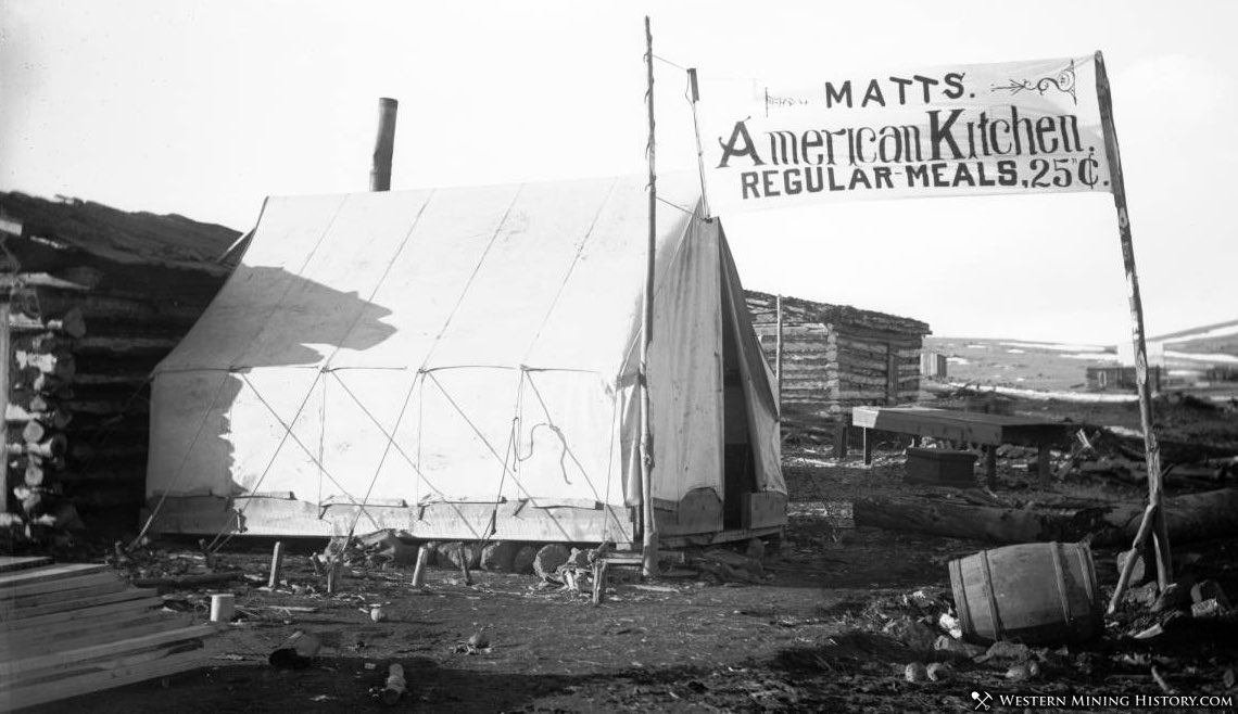 Cripple Creek Restaurant - Matts American Kitchen - Operating out of Tent