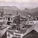 Six-Mile Canon, from C Street, Virginia City