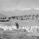 Camp of the Colorado State Militia - Altman Colorado 1894
