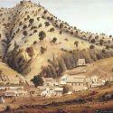Illustration of Bidwell Bar ca. 1854
