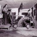 US mine hoist operator - Bingham Utah ca. 1930