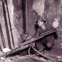 Drilling in the US Mine - Bingham Utah ca. 1930