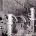 US mine new hoist motors being installed - Bingham Utah ca. 1930