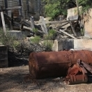 Boiler at Mill Site - Ruby Arizona