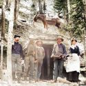 Boss Mine at Breckenridge, Colorado 1880s (enhanced image)