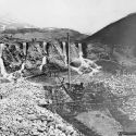Early placer mining operation at Breckenredige, Colorado