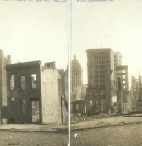 Ruins of San Francisco from Bush St., near Stockton.