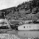 Colorado Reliance Gold Dredge at Breckenridge ca. 1910