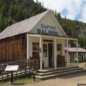 The Empire Saloon in Custer, Idaho is now a gift shop