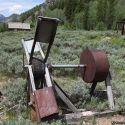 Homemade water-powered mini ore mill