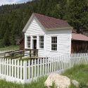 Custer, Idaho historic home