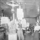 Interior View of Woodruff General Merchandise Store in Gillett, Colorado