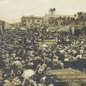 20,000 Spectators at a Drilling Contest - Goldfield, Nevada ca1906