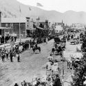 Fourth of July Parade - Hailey, Idaho 1883