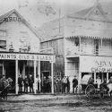 Drug Store and Nevada Chop House - Hailey, Idaho 1884