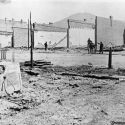 Aftermath of the July 2, 1889 fire in Hailey, Idaho