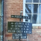 Old sign - Pioche