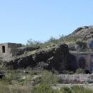 Old mill foundation - Oatman